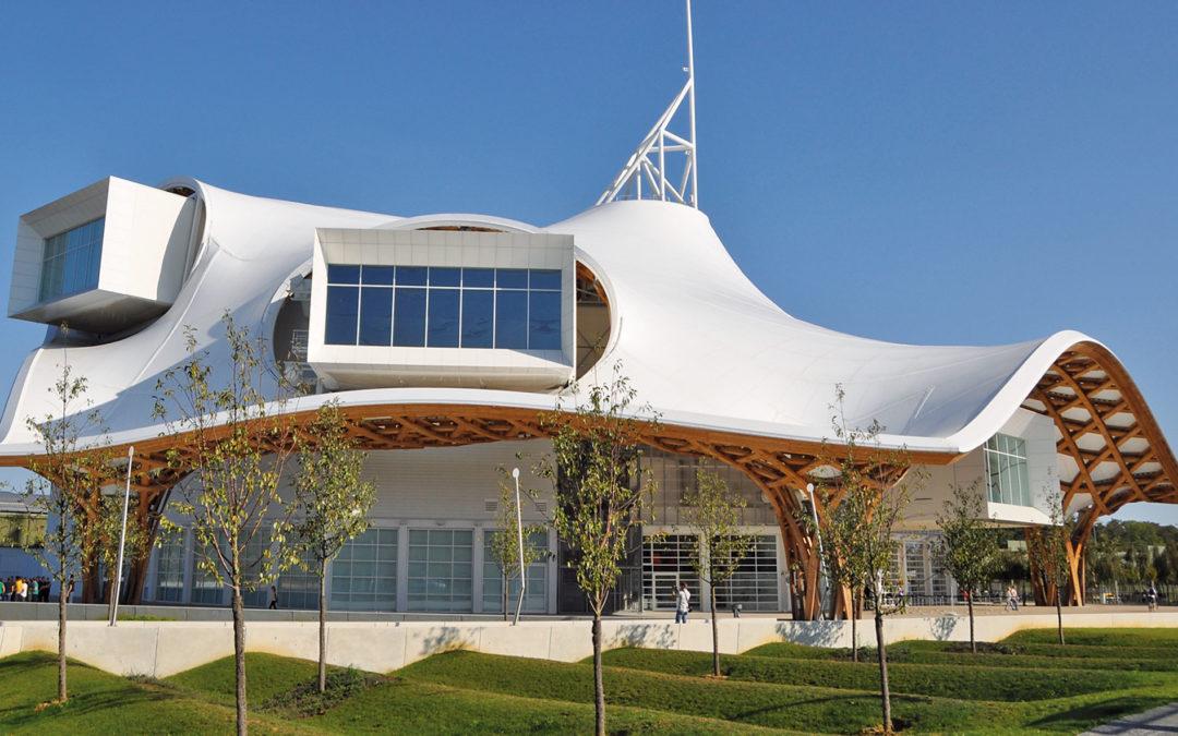 Centre Georges Pompidou Metz, Frankreich