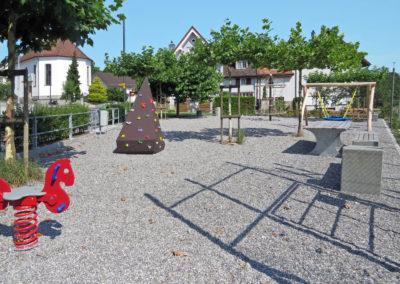 Spielplatz Renaturierung & Verlegung