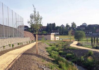 Renaturierung & Verlegung Krennenbach, Thal