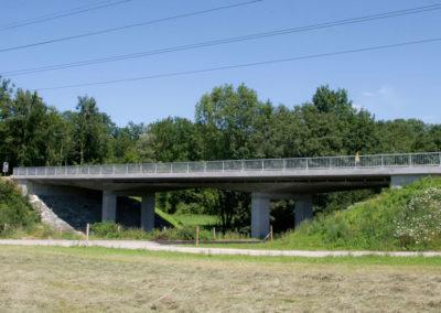 Neubau Brücke Gillhof, Henau