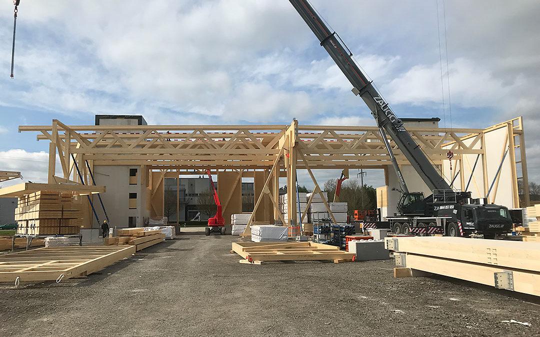 Neubau Logistikgebäude Märstetten