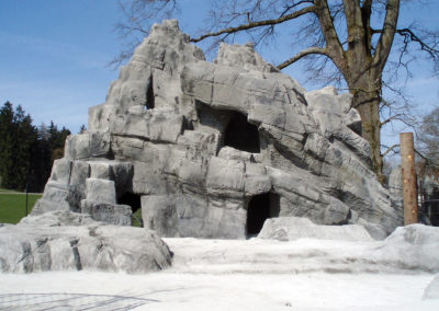 Steinbockfelsen Peter und Paul Wildpark, St. Gallen