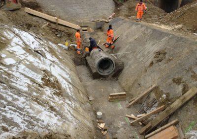 Kanalisationen & Werkleitungen Messenriet, Frauenfeld