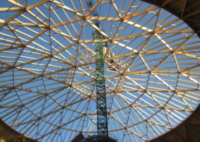 Kuppeldächer Kohlekraftwerk Hamburg