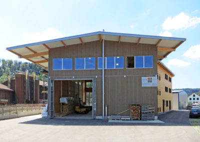 Commercial Hall Meier-Kägi Holz + Bau AG, Rikon
