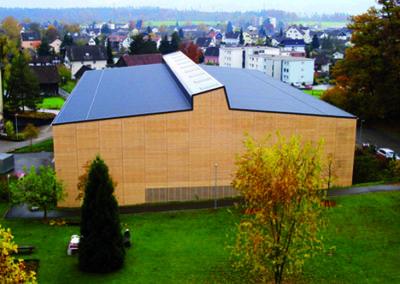 Sporthalle Rekrutierungszentrum, Rüti ZH