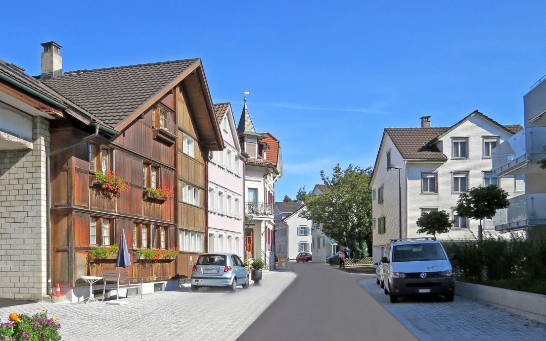 Kanzlei-, Kronen- und Rösslistrasse, Flawil