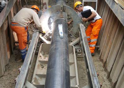Neubau Grundwasser-Regulierungsleitung