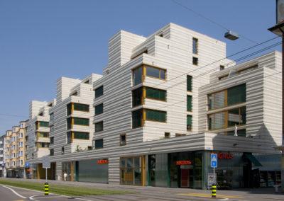 Überbauung Badenerstrasse Zürich