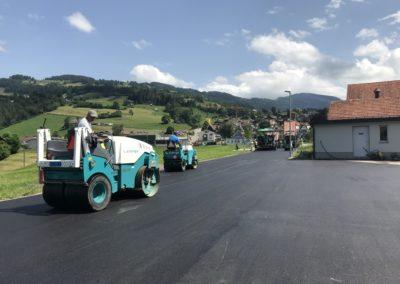 Umfahrung und Parkieranlage Johanneum, Neu St. Johann