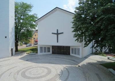 Platzgestaltung, Evangelische Kirchgemeinde Wil