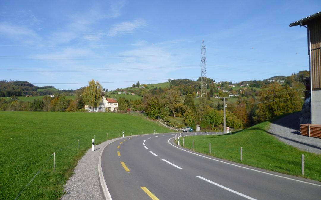 Kantonsstrasse, Schnädt-Gmündentobel