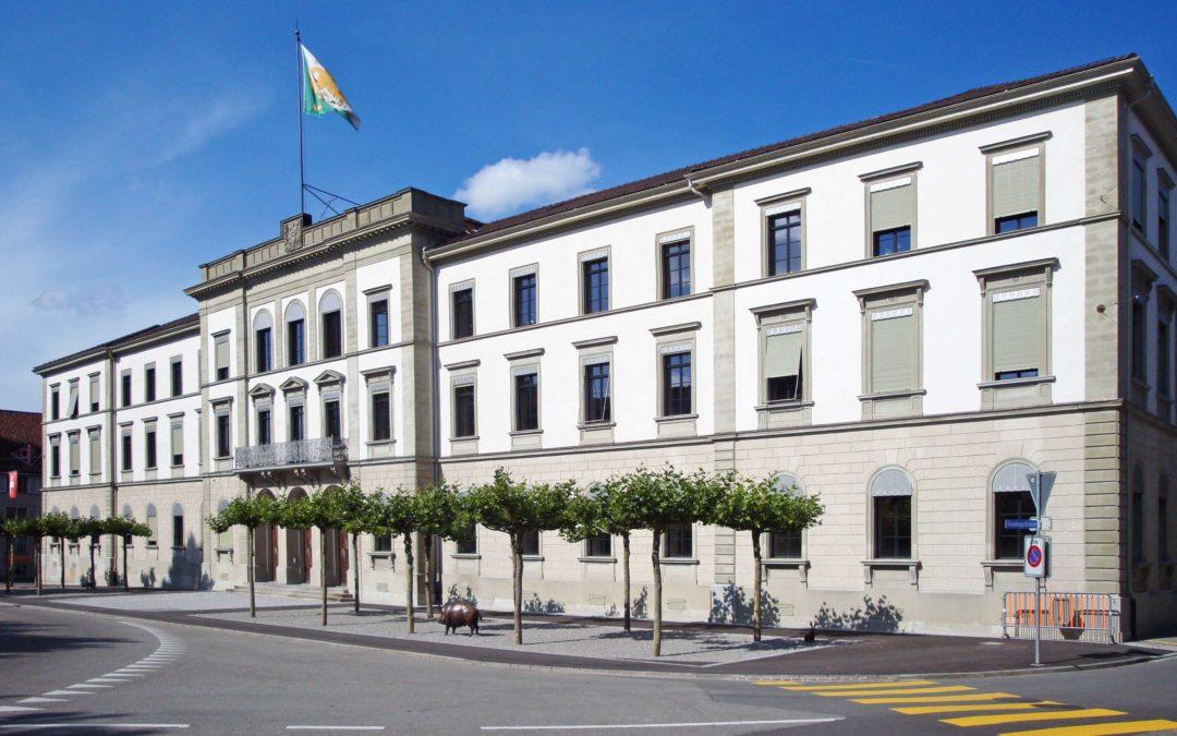 Regierungsgebäude Kanton Thurgau, Frauenfeld