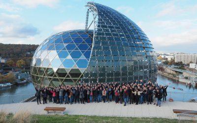 Das Team von SJB Kempter Fitze AG in Paris
