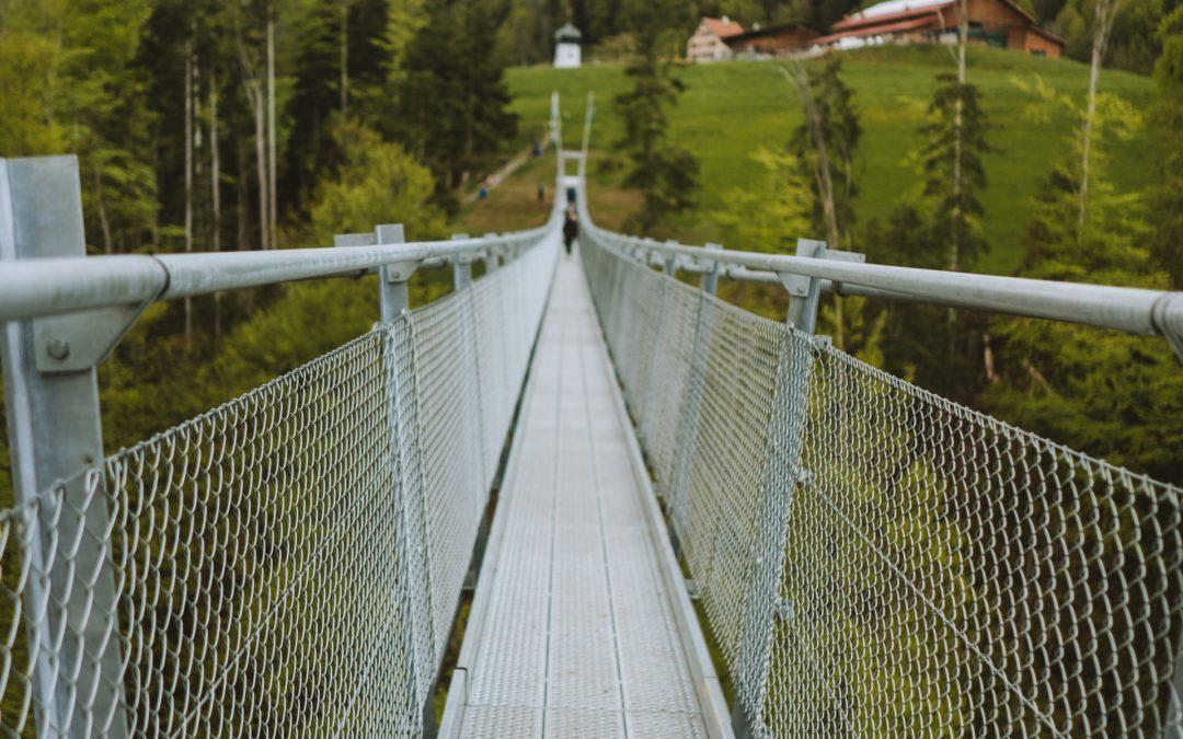 Hängebrücke über den Mattenbach eingeweiht