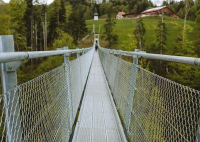Hängebrücke Mattenbach