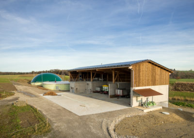 Biogasanlage Schloss Herden, Herdern