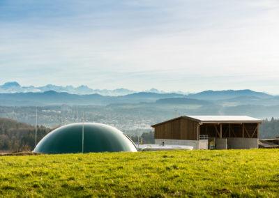 Biogasanlage Schloss Herdern