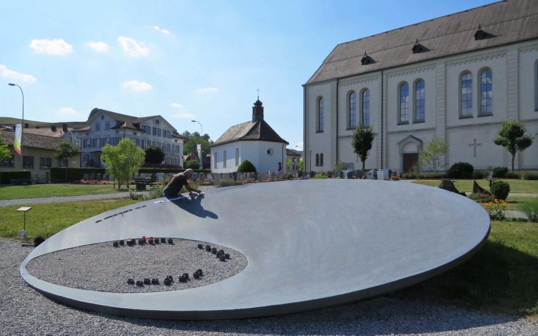 Gemeinschaftsgrab Friedhof Bütschwil