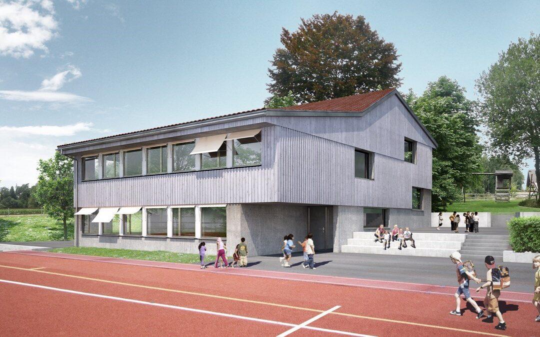 Wettbewerb 1. Rang l Schulanlage, Hörhausen TG