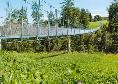 Hängebrücke Mattenbach, Grub