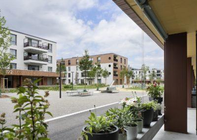 Wohnüberbauung am Glattbogen, Zürich