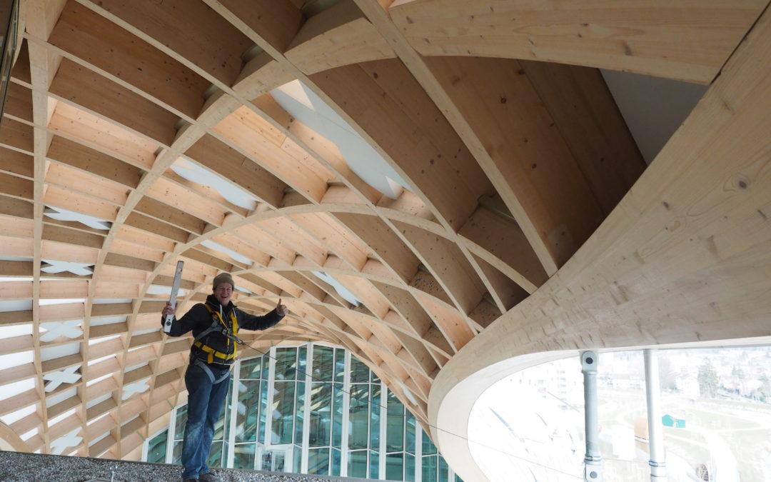 Eschenbacher bauten Swatch-Bau in Biel mit