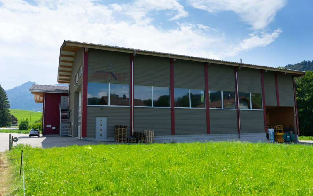 Neubau Schreinerei/Zimmerei Jakob Nef AG, Urnäsch