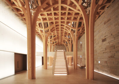 Grand Hall Haesley Nine Bridges Ergänzungsbauten, Yeoju (KOR)