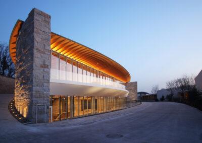Recreation Centre Haesley Nine Bridges Ergänzungsbauten, Yeoju (KOR)