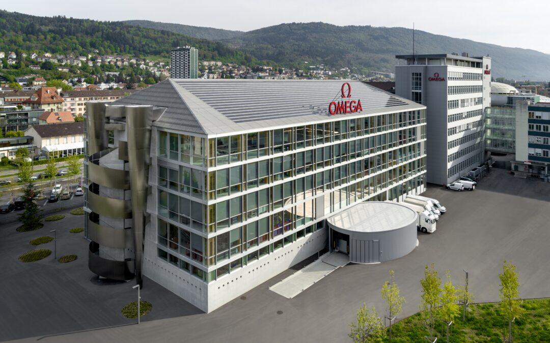 Omega Produktionsgebäude, Biel