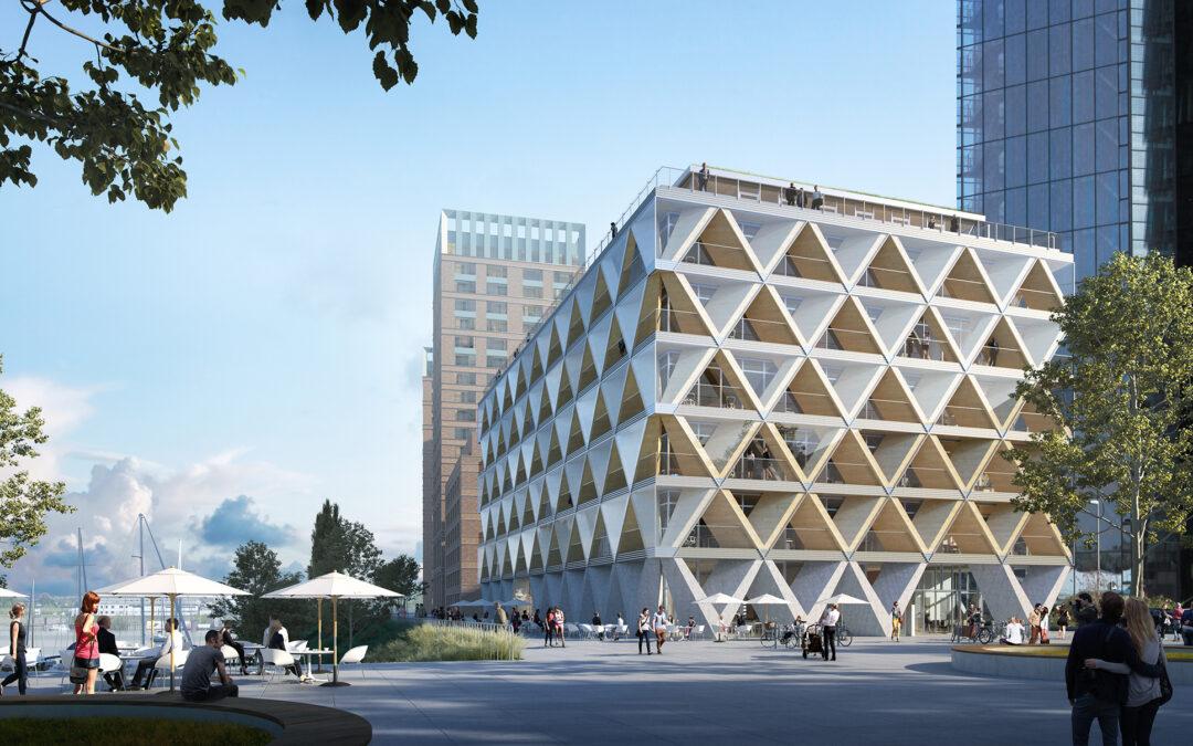 The Cradle – Bürogebäude mit Nachhaltigkeitskonzept