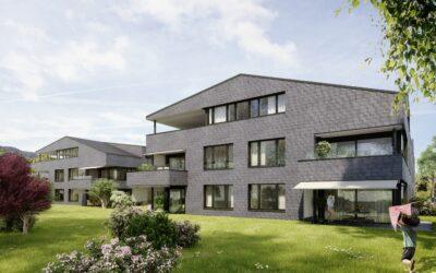 Wohnüberbauung Giessenpark, Bad Ragaz