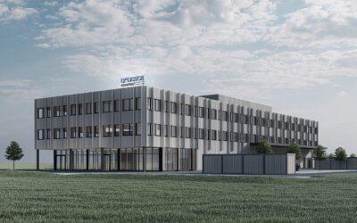 Neubau Brütsch Elektronik AG, Beringen