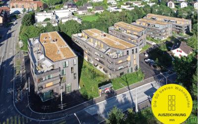Award für Schlösslipark St. Gallen